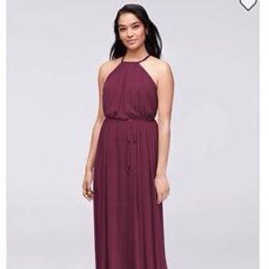 Bridesmaid Dress- wine color